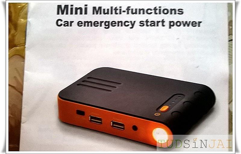 จั๊มพ์สตาร์ทรถ Mini Multi-functions Car emergency start power