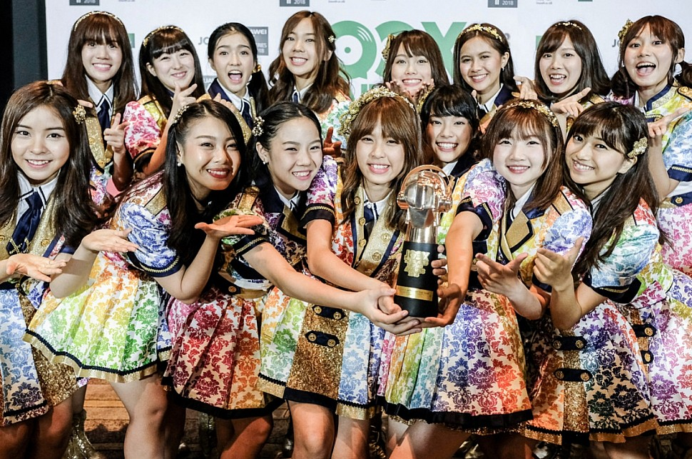 JOOX Thailand Music Awards 2018 รางวัลในสาขา ศิลปินหน้าใหม่แห่งปี