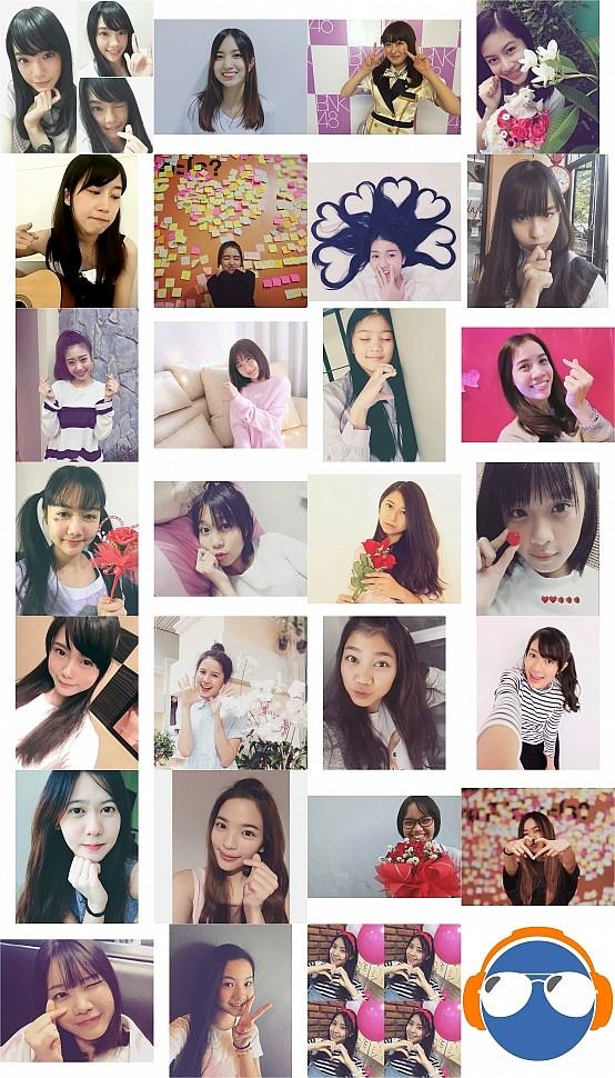ภาพแรกของสมาชิกรุ่นที่ 1 ใน IG ยกเว้นของ ซินซิน, คิดแคท และน้ำหอม BNK48 รุ่นที่ 1