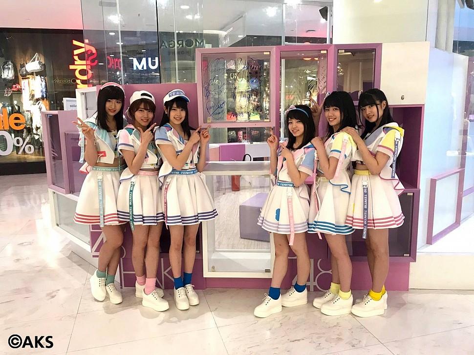 สมาชิก AKB48 Team 8 ที่มาเยี่ยมชม Digital Studio เมื่อวันที่ 2 มิถุนายน 2560